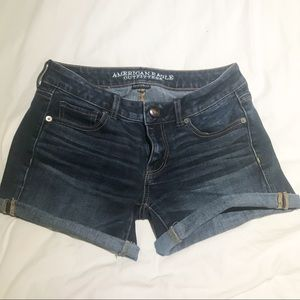 American Eagle Denim Super Stretch Shorts 4